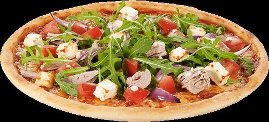 Pizza Zungenplayer