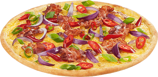 Pizza Brandscheibe