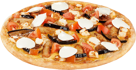 Pizza Karminrot