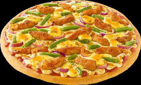 Pizza Kaktusblüte