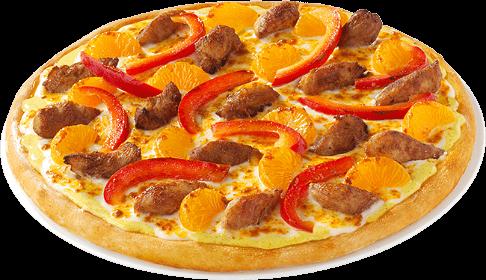 Pizza Caribbean Chicken