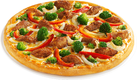 Pizza Thai Chicken