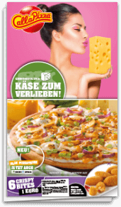 Käse Wochen Flyer