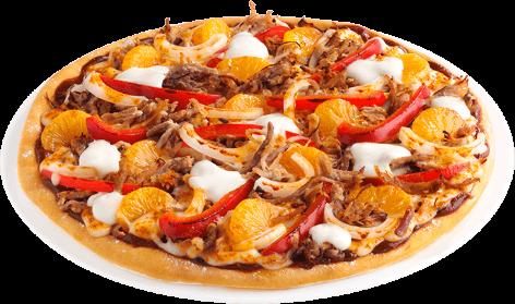 Pizza Schneegestöber