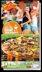 BBQ Wochen Flyer