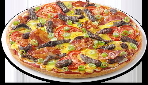 Pizza Steak & Bacon