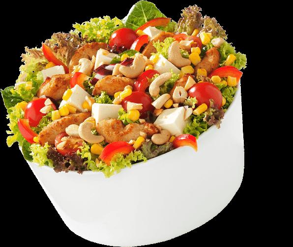 Salat Sesam öffne dich