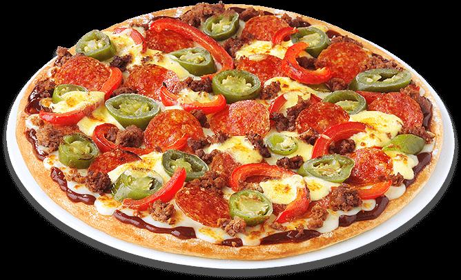 Pizza Doppelbrenner