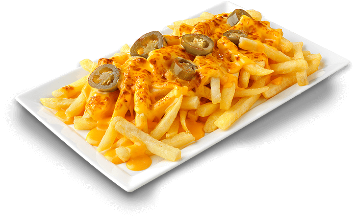 Chili-Cheese Pommes