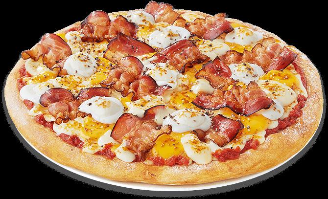 Pizza Bacon & Cheese
