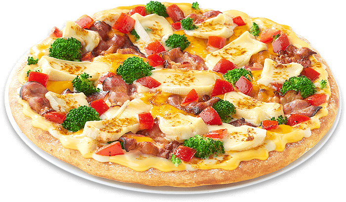 Pizza Triple Cheese