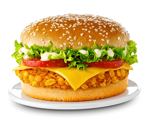 Chicken Cap-Burger