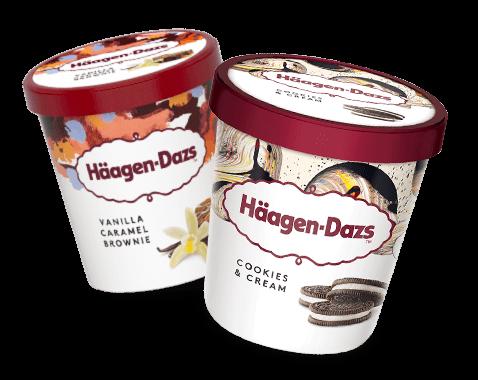 Häagen-Dazs doppelt lecker