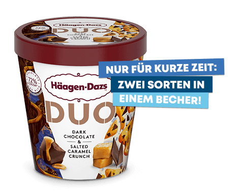 DUO Dark Chocolate & Salted Caramel Crunch