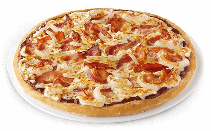 Pizza Barbecue & Bacon