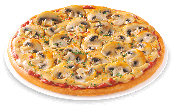 Pizza Vegan Funghi