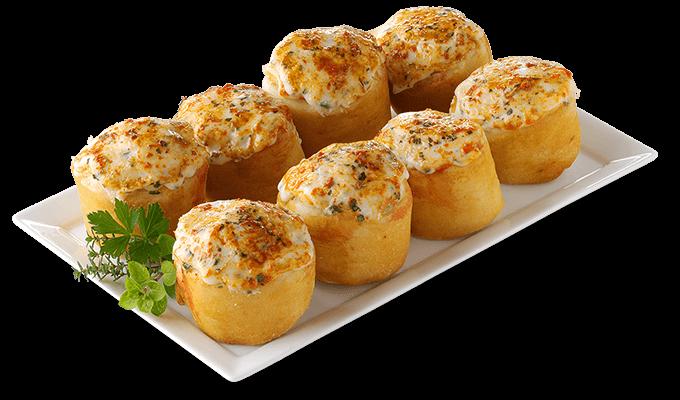 Pizzabrötchen Kräuterbutter