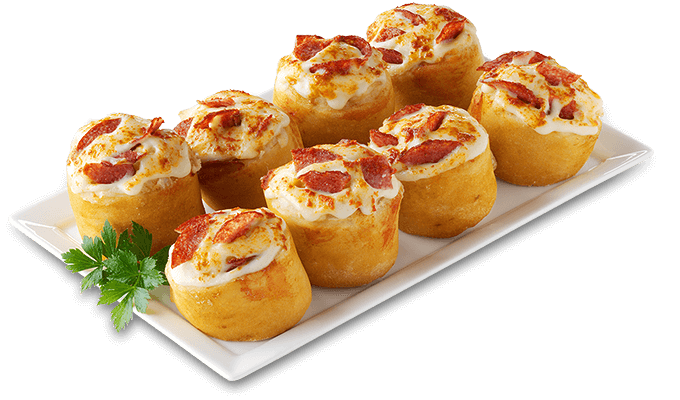 Pizzabrötchen Salami