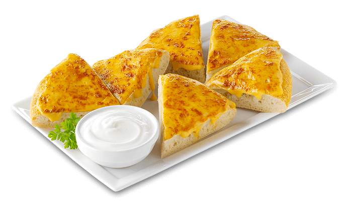 Pizzabrotecken Cheddar