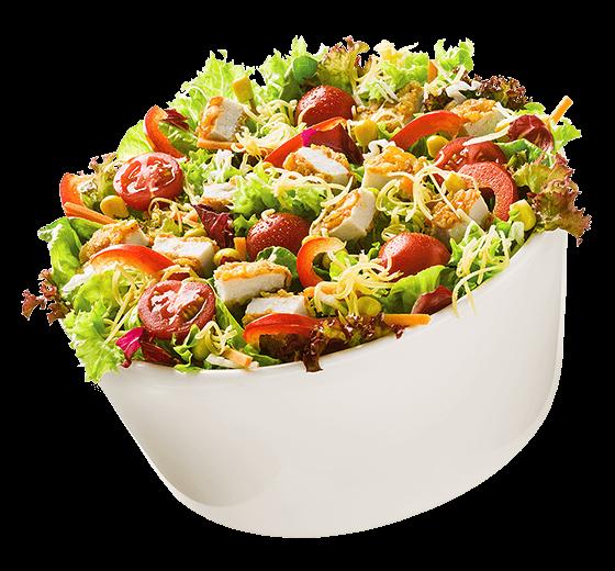 Mittagsangebot Salat