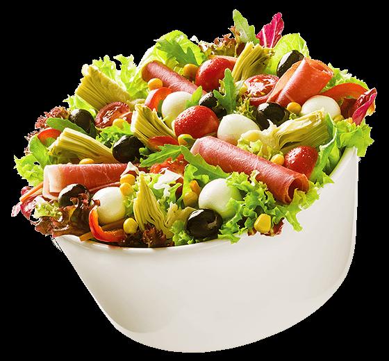 Salat Mittelmeertraum